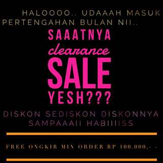 CLEARANCE SALE!! Is ON 🤗🤗