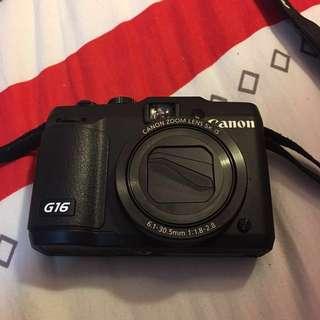 Canon camera PowerShot G16