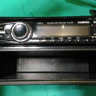 Suzuki Solio mp3汽車 cartec 音響主機 不含置物盒 USB 零件 殺肉 二手拆賣