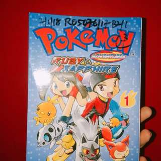 Pokemon Ruby Sapphire Comic Book 1