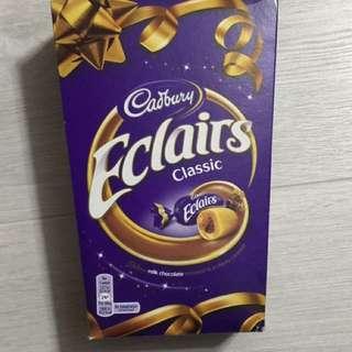 Cadbury Eclairs 拖肥軟心朱古力糖