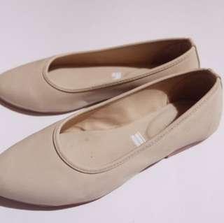 Flatshoes Broken White Amazara