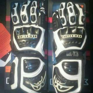 New Berik Full Leather Racing Glove (2 Sets)