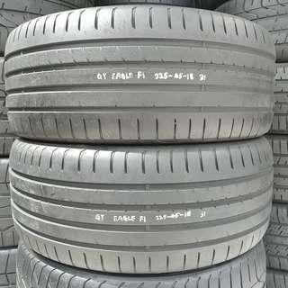 GOODYEAR F1A2 225-45-18 一對 85%NEW