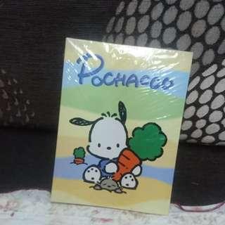 經典 Pochacco 記事簿 Note Book