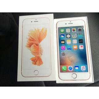 iPhone 6s 64gb Rose Gold Silver Space Grey Fullset Mulus Original