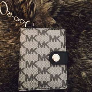 MK Michael Kors key holder and card holder