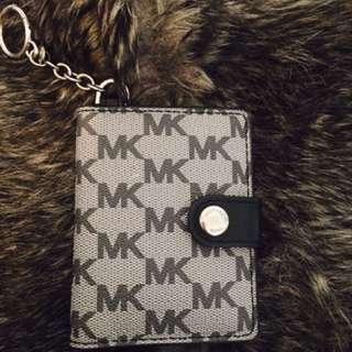 MK Michael Kors key holder and card holder