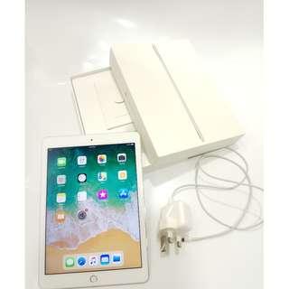 "iPad PRO 9.7"" 銀白色 WIFI+4G 128gb 有盒有保養到2018年8月"