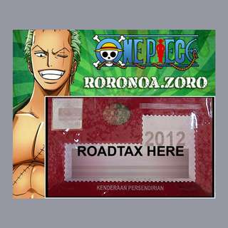 Road Tax Sticker One Piece - ZORO