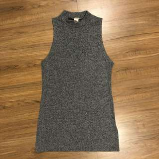 H&M Gray Knit Top
