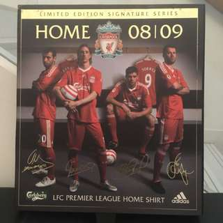 Liverpool limited signature home shirt