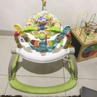 Jumperoo space saver