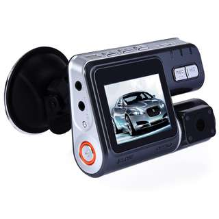 CAR DVR CAMERA VIDEO RECORDER HD 1080P DUAL LENS DASHBOARD VEHICLE CAMCORDER G-SENSOR 9.000 x 6.500 x 2.500 cm