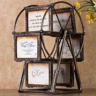 BNIB Vintage Ferris Wheel Photo Frame