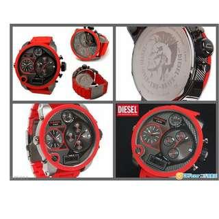 Diesel DZ7279 手錶 鐘表 100%全新 香港行貨 現貨供應 鋼帶