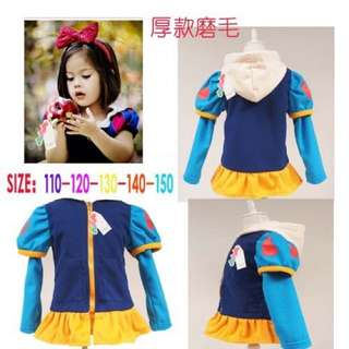 [FREE POSTAGE SM]Princess Snow White Hooded Cosplay Sweater