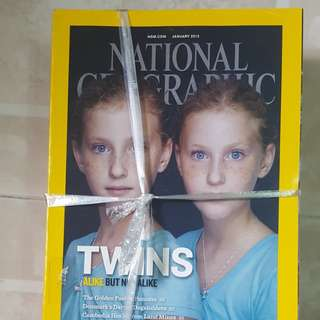 National geographic magazine-Year 2012