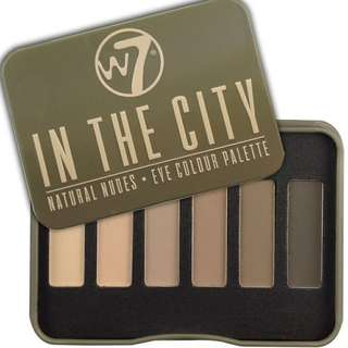 W7 In The City Eye Colour Palette
