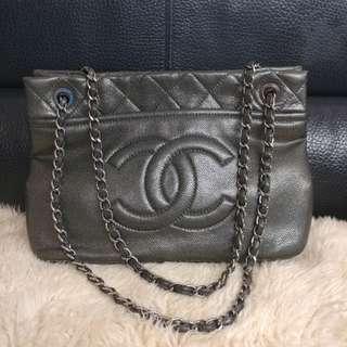 Chanel Metallic Shoulder Bag