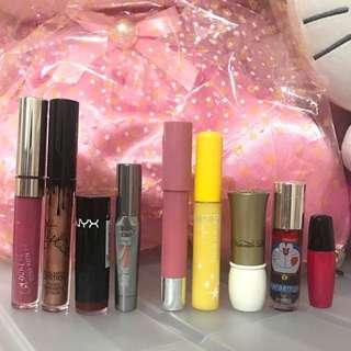 Lipsticks & lip tints declutter