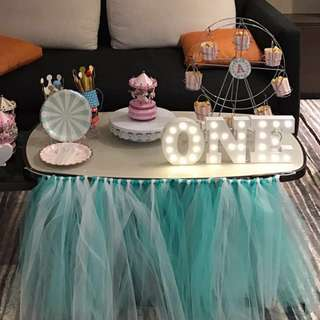 Baby First Birthday Decorations for Rent