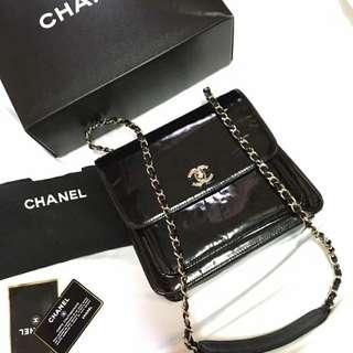 Chanel Vintage Patent Flap