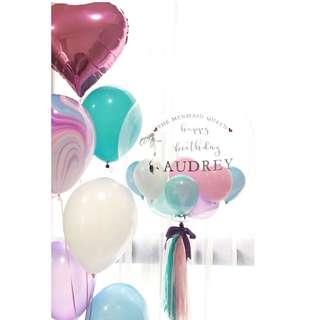 Customized bubble balloon