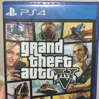 [PS4] Grand Theft Auto V (Brand New)