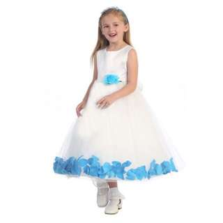 [FREE POSTAGE SM] Flower girl dress satin