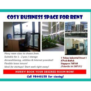 Serviced Office Room For Rent At Woodlands 11 (Admiralty MRT)