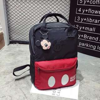 Mickey backpack ❤️ Ready stock