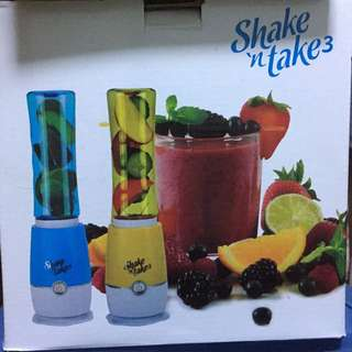 鮮果樽中轉 — Shake n Take 3 二合一水樽榨汁機