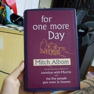 Mitch Albom - for one more day