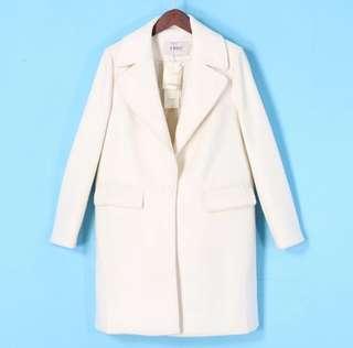 全新氣質(含羊毛)成份外套