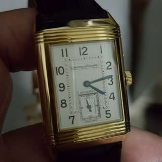 Jaeger LeCoultre Reverso Duo 18k Gold