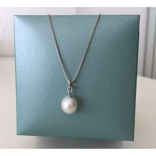 ✨Sale ⬇️ $968, 56% off✨New South Sea white pearl pendant & necklace set 南洋白色珍珠吊咀及頸鏈