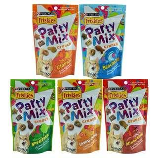 3 packs Friskies Party Mix 60g