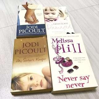 Female Author Book Set (4x)