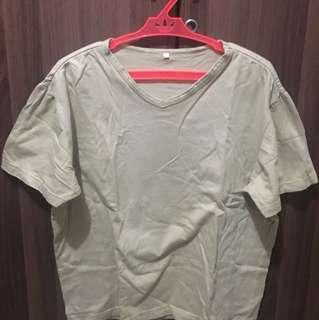 Oversized Shirt (Cream Brown)