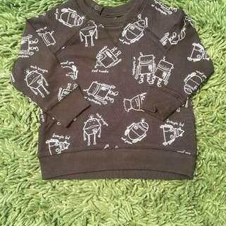 Hnm sweatshirt size 9-12m
