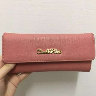 Authentic Carlorino Pink Wallet