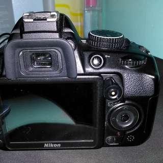 Nikon d3100 with 18-55 kit lens