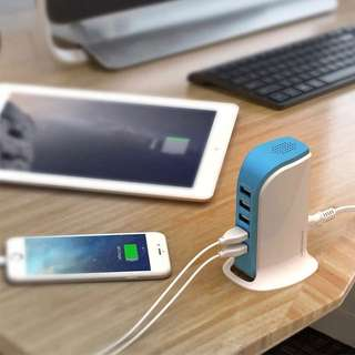 🔥5 Port USB Fast Charger