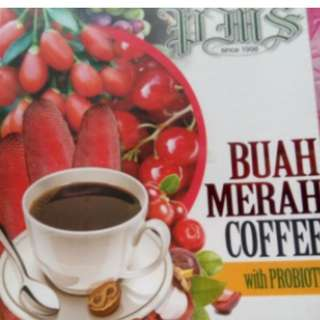BUAH MERAH COFFEE 10box Minimum