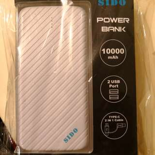 SIDO Power bank 充電 行動電源