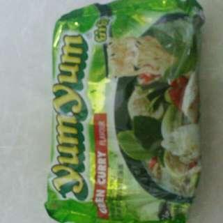 泰式青咖喱湯面4個
