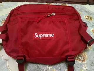 Supreme Waist Bag FW17 Red Miror 1:1