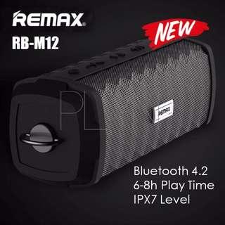 NEW! Remax M12 Bluetooth Speaker Bluetooth V4.2 Outdoor Speaker
