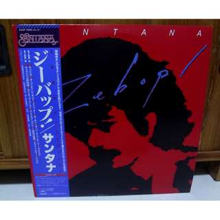 Santana Zebop Vinyl LP Record Japan Pressing